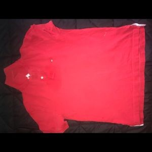Tommy Hilfiger Red Collar Shirt